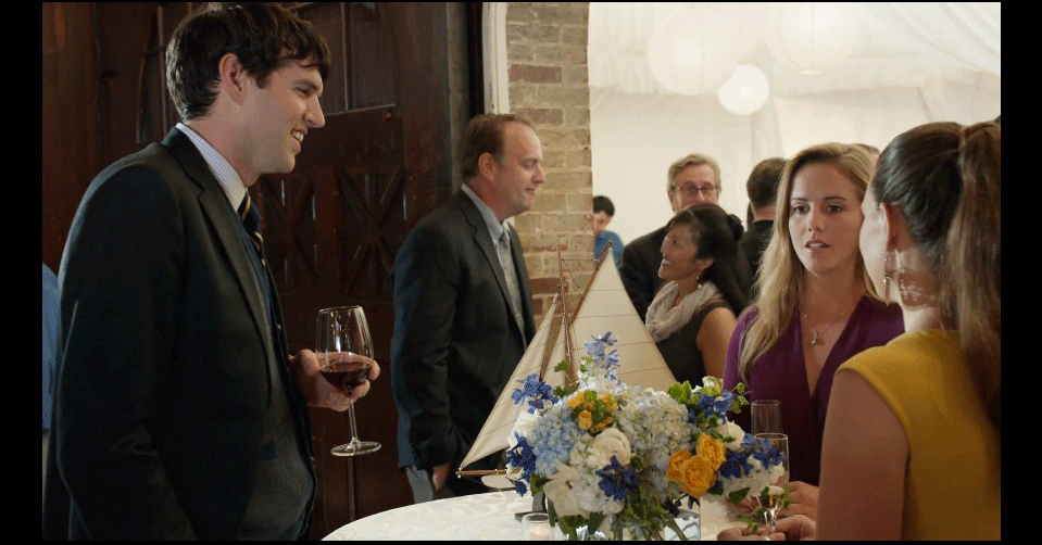 VEEP Season 3 at the wedding reception
